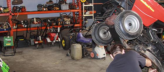 réparation de tracteur tondeuse